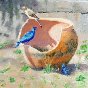 Bleu Odile