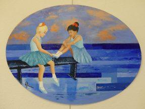 Bleu danseuses